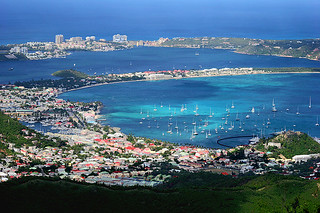 Marigot from above