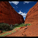 Walpa Gorge - Kata Tjuta - The Olgas by Stevpas68