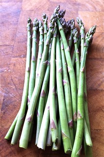 first asparagus of the season