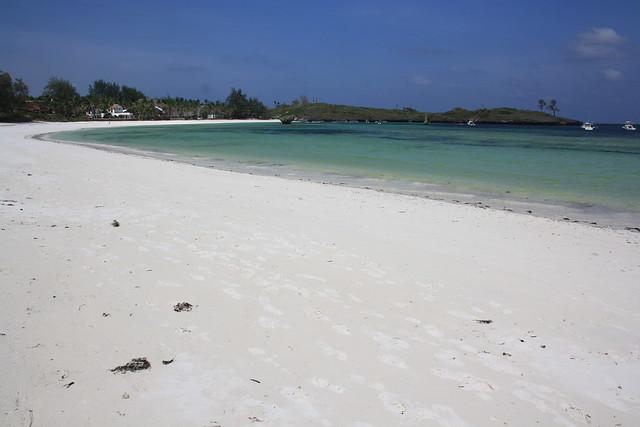 White-Sand Beach in Watamu