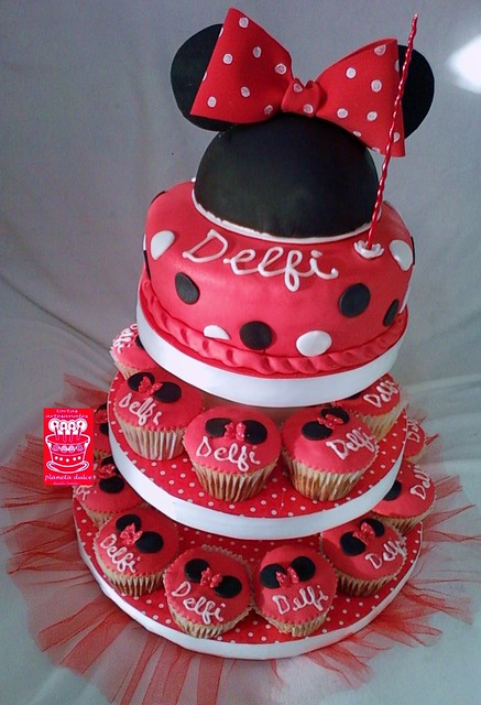 minnie cupcakes | Flickr - Photo Sharing!