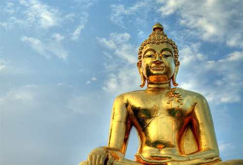 Buddha in the Golden Triangle / Bouddha au Triangle D'or
