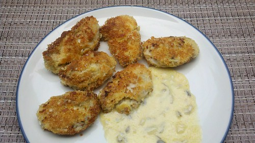 grain free pan fried oysters