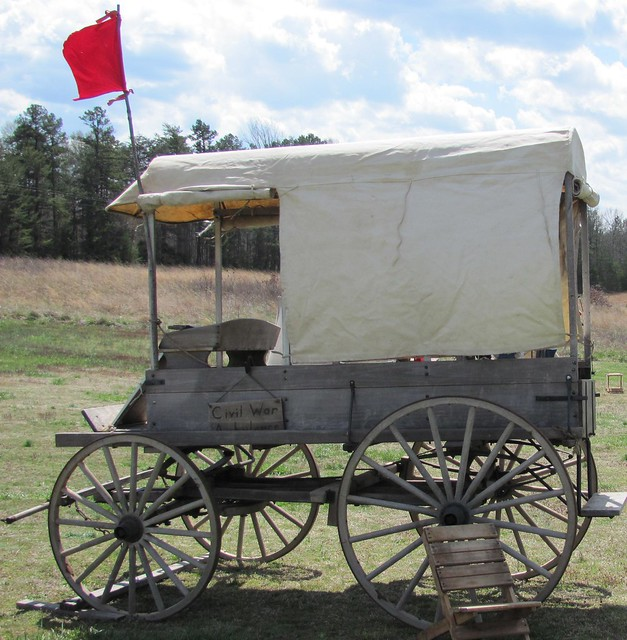 Ambulance at Sailor's Creek Battlefield State Park