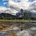 Majestic Mount Rundle by Jeff Clow