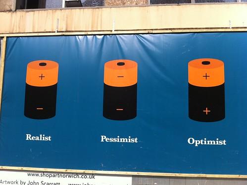 Realist, pessimist, optimist