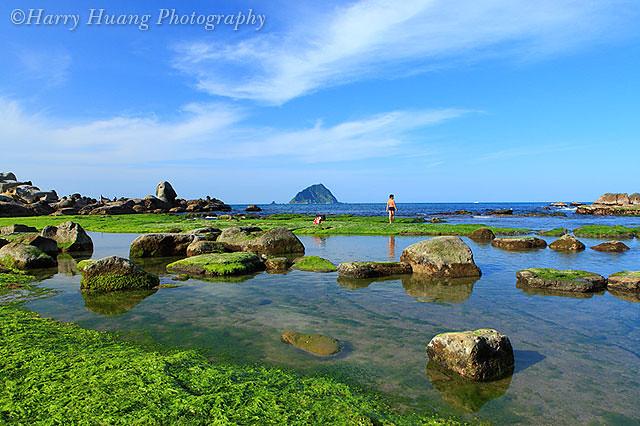 和平岛地形有丰富的海蚀地形景观,如海蚀平台,豆腐岩,海蚀沟,海蚀崖