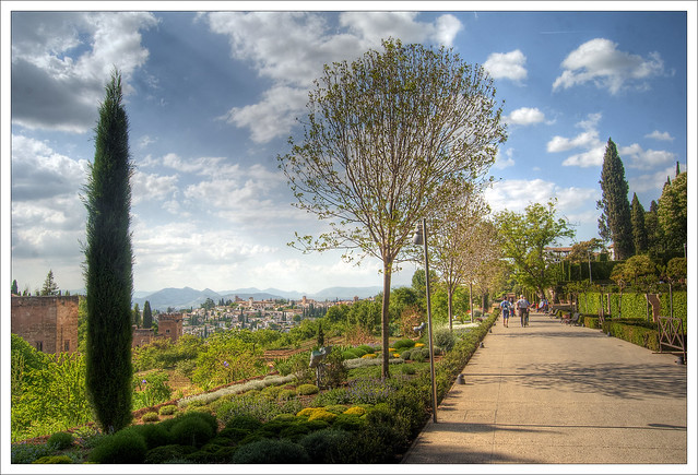 Jardines de la alhambra jardines de la alhambra granada for Jardines de alberto granada
