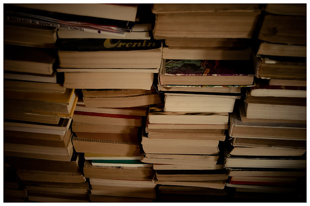 Stacks of Books.