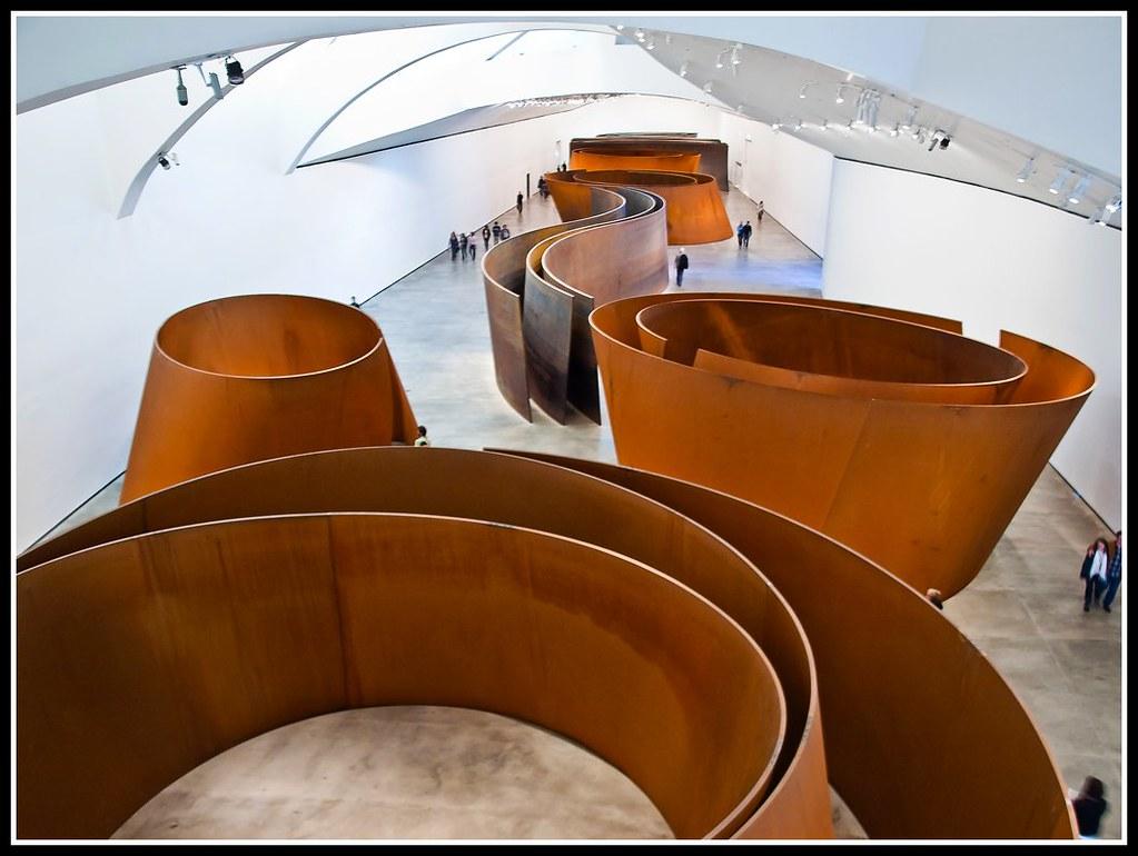 Guggenheim interior 3: La materia del tiempo