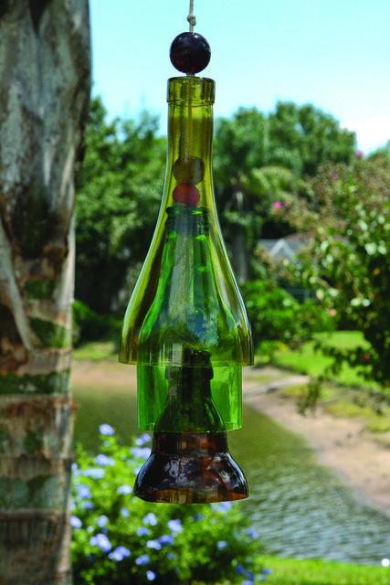 Wind bells flickr photo sharing for Generation green bottle cutter