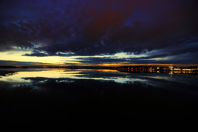 Luleå från Bergnäsbron