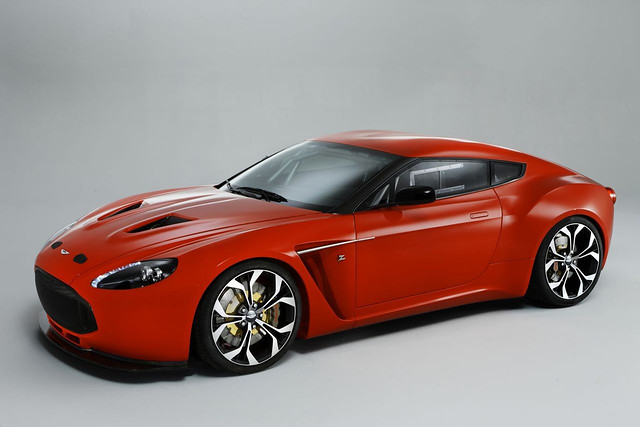 Aston Martin V12 Zagato on Pirelli P Zero Tire