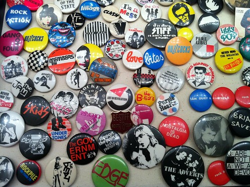 Punk Rock Button Collection