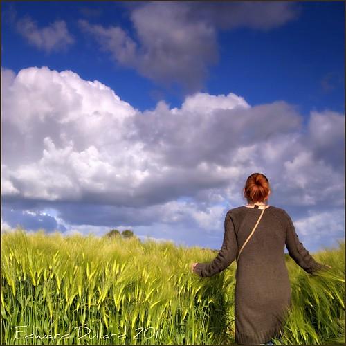 ireland summer portrait sky irish woman cloud painterly nature girl field landscape eire impressionism paysage photoart emeraldisle irlanda ierland kilkennyphotographers kilkennyphotographicsociety edwarddullardphotographykilkennyireland artistoftheyearlevel3 artistoftheyearlevel4