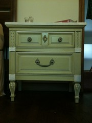 drawer, furniture, chiffonier, chest of drawers, chest, table, nightstand, desk,