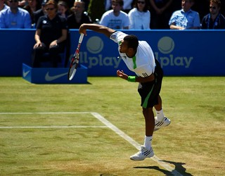 Tsonga serve