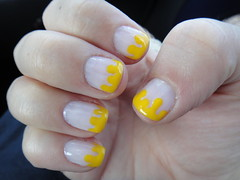 hand, nail care, finger, yellow, nail polish, nail, manicure, cosmetics,