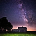 Abandoned Ranch House Milky Way by Eric Hines Photography
