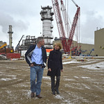 Minister McQueen and MP Mike Lake visit Quest Carbon Capture and Storage Project