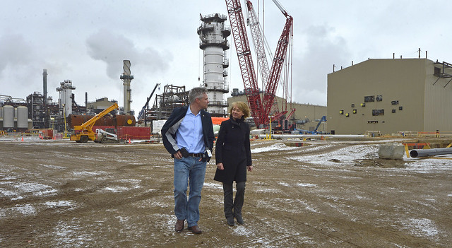Minister McQueen visits Quest Carbon Capture and Storage Project 30226