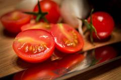 Sliced Cherry Tomato