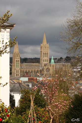 A view across Truro, from Strangways Terrace by Stocker Images