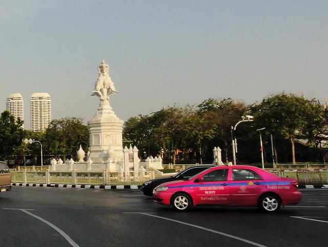 Hot Pink Taxi