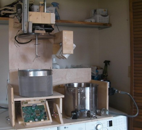 Brewbot an automated homebrewing machine brookston beer Diy home automation