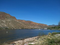Canyon lake, Superstition Mtns