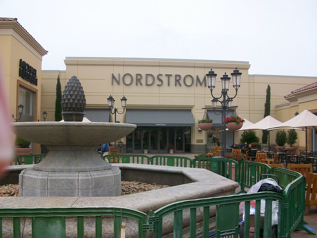 Nordstrom Newport Beach Mall Entrance