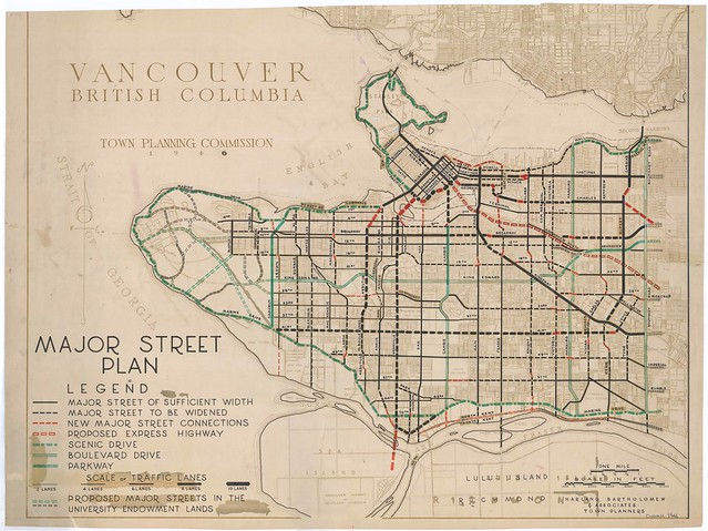 Major street plan
