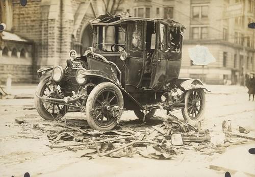 Algonquin Hotel, Dayton, OH - 1913 Flood