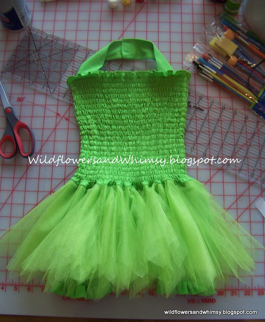 Tinkerbell~Shirred Tutu Dress