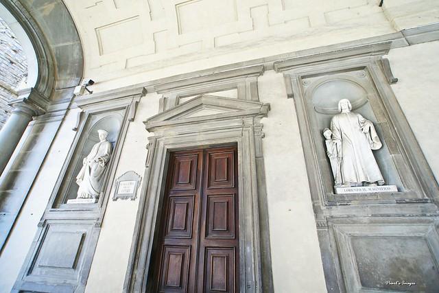 烏菲茲美術館 門口