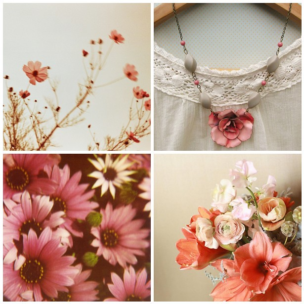 colour palette : blooming marvellous - curated by Emma Lamb