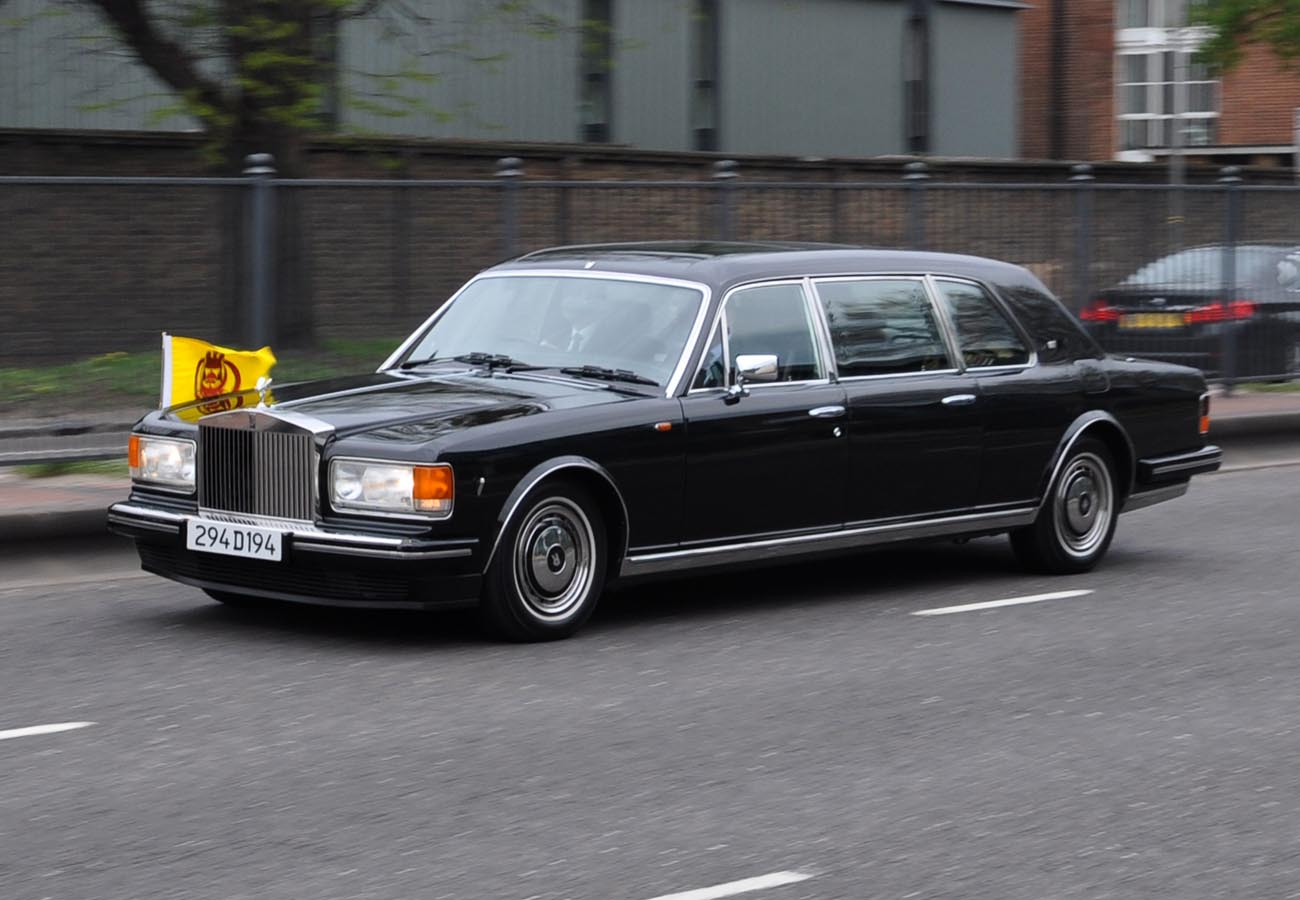 Bentley Spotting Sultan Of Brunei S Rolls Royce Silver