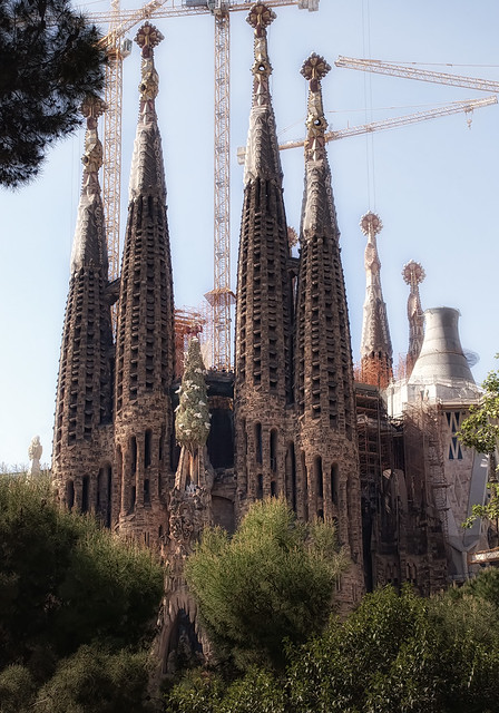 Basilica De La Sagrada Familia Projecte  Flickr - Photo Sharing!