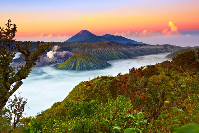 What nature delivers to us is never stale because it has eternity in it. Bromo - Tengger - Semeru National Park