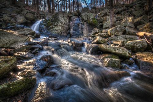 park longexposure nature water rock nikon stream waterfalls hdr d90
