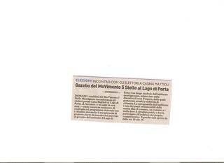 La Nazione 24 aprile 2011