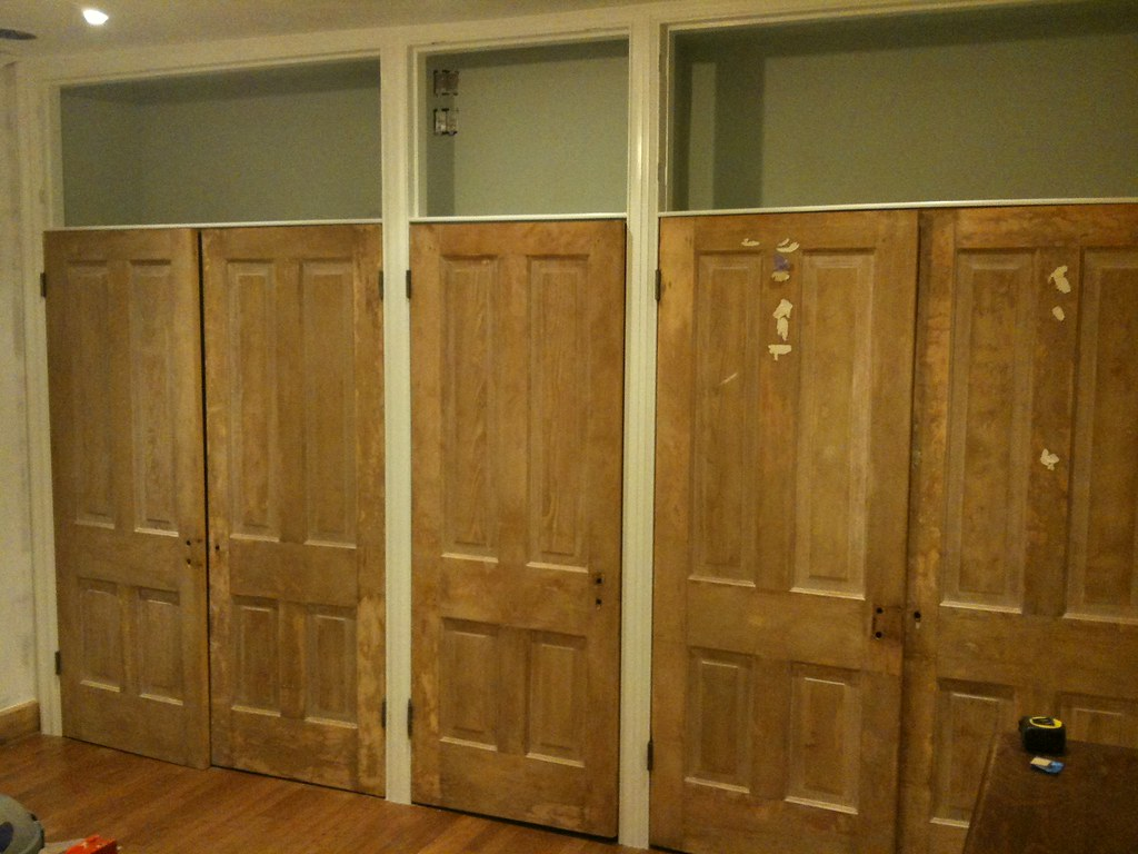 Master Bedroom Closet Upper Storage To Top It All Off Old Town Home