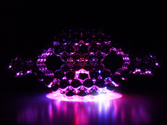 random shape, multicoloured led-illumination - different view by GalaxyTraveler