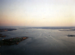 New York Harbor, from Two World Trade Center