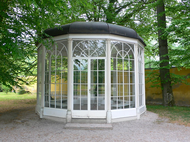 Sound of Music pavilion at Schloss Hellbrunn, Salzburg