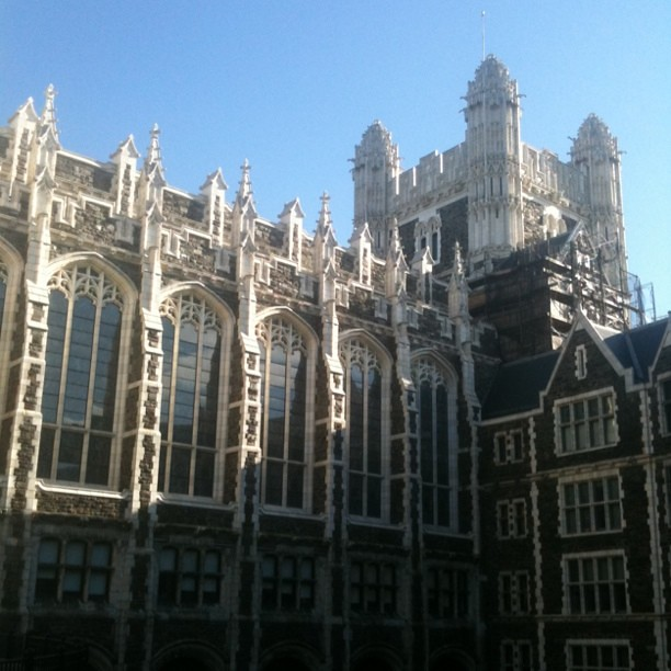 The neo gothic architecture of city college | Flickr - Photo Sharing!