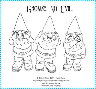Gnome No Evil - free pattern