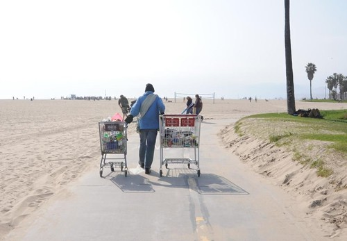 Shopping Carts Bike Path