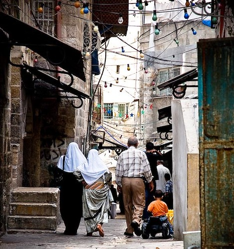 Nabil Darwish's photo of a Jerusalem - where I spent my worst night in a hostel.