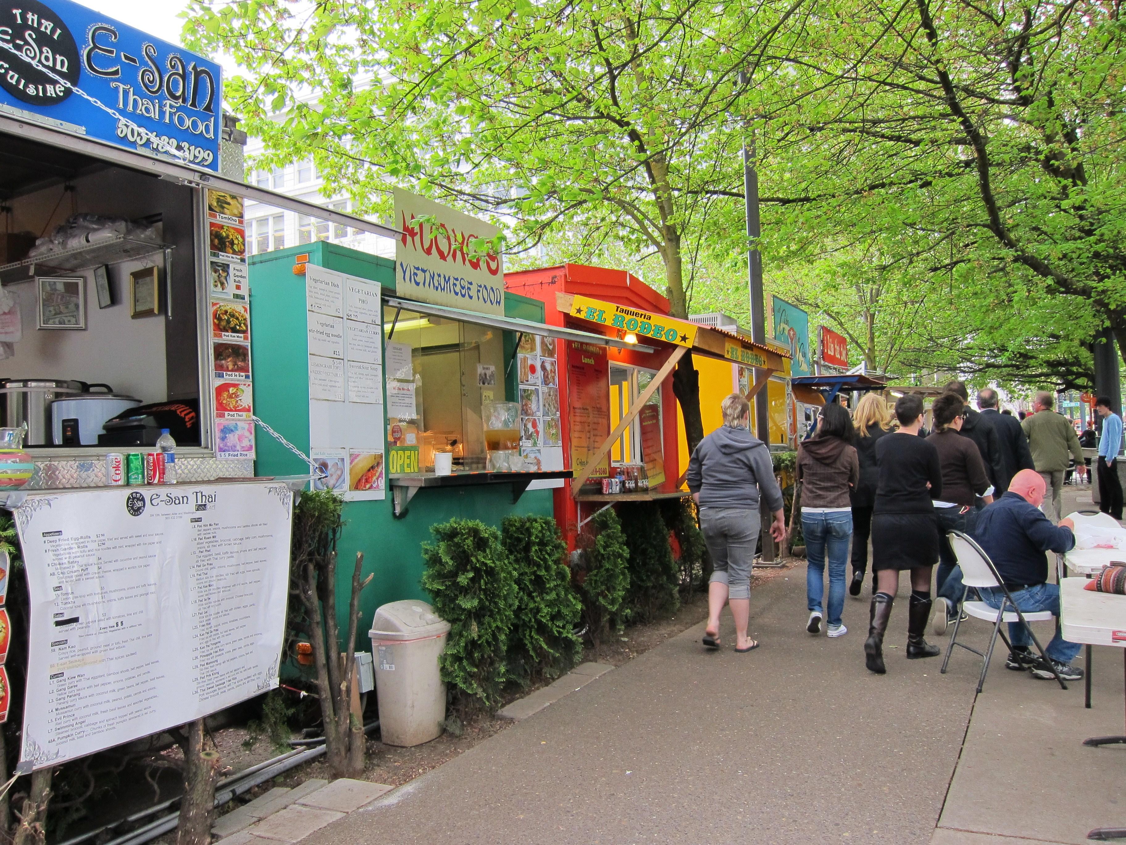 Food Trucks Portland Maine